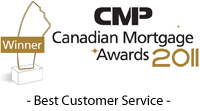 CMP Winner 2011 - Best Customer Service
